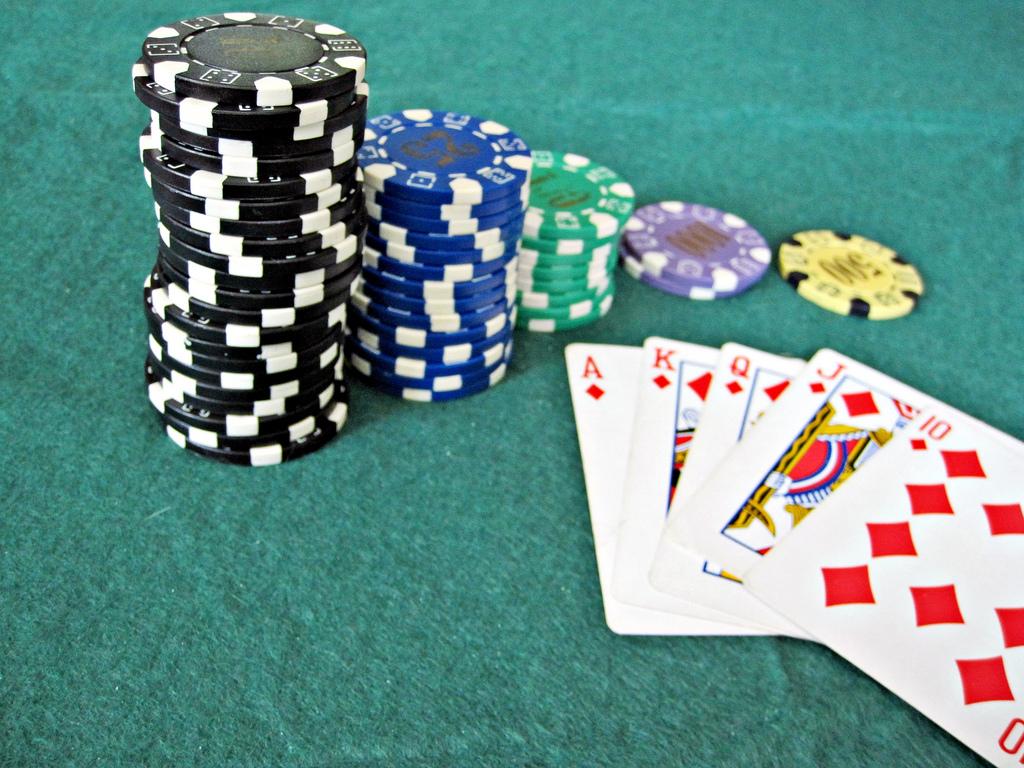 a poker game